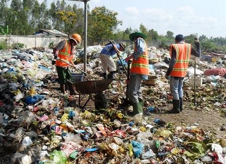 xử lý rác thải sinh hoạt nông thôn