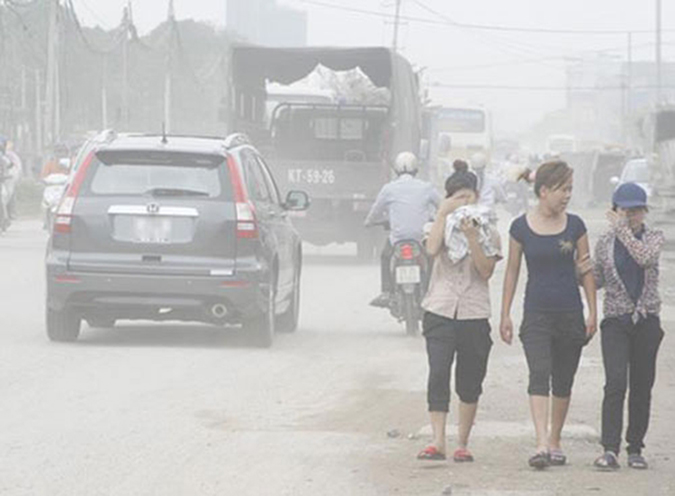 Ô nhiễm không khílà gì?