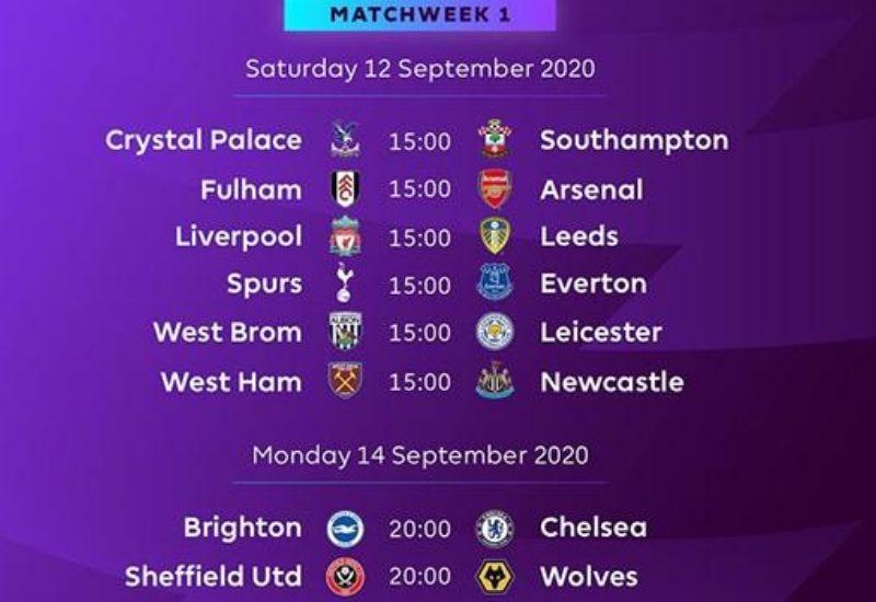 Lịch thi đấu Premier League hôm nay: MU đụng Burnley, Liverpool gặp tân binh