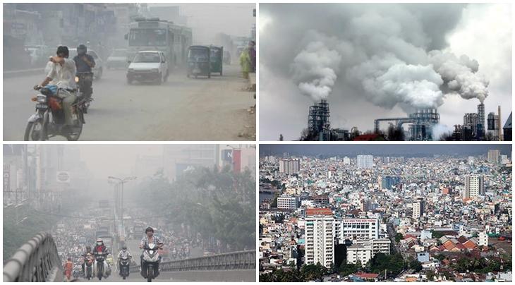 ô nhiễm không khí tại việt nam