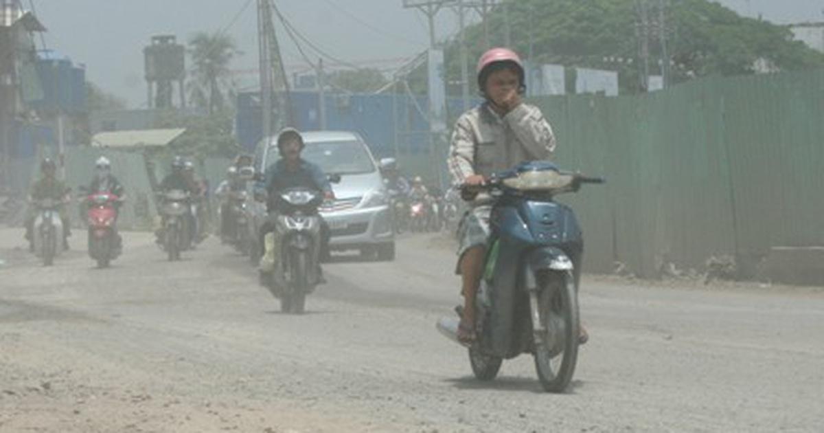 ô nhiễm không khí việt nam