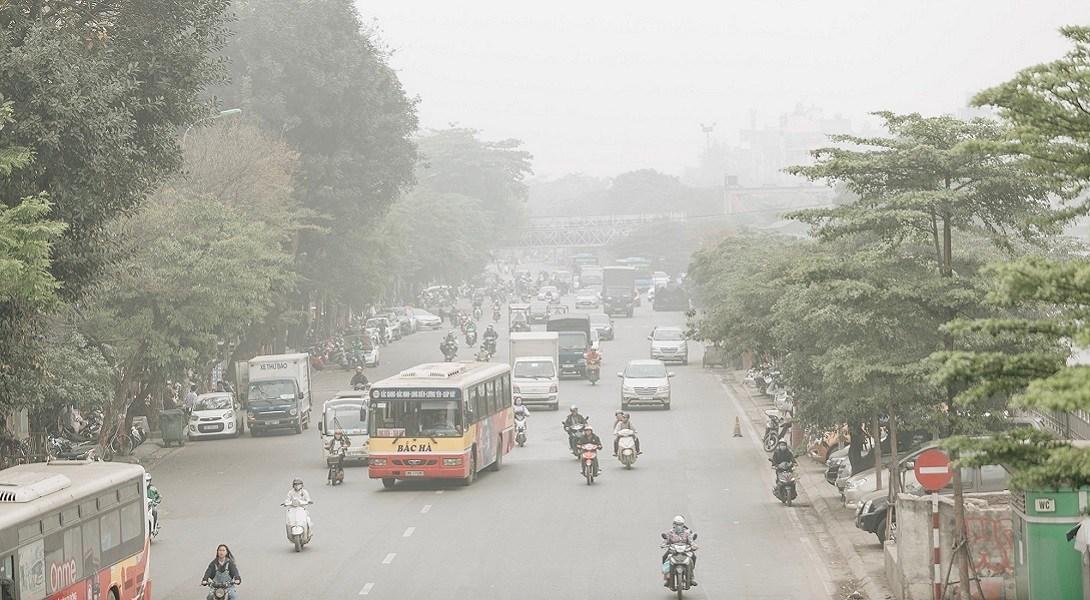vấn đề ô nhiễm không khí ở việt nam